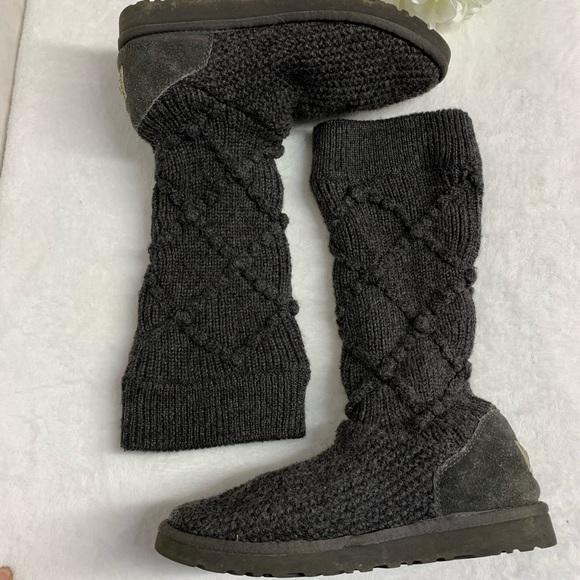 8c391928585 Ugg Australia Argyle Knit Boots